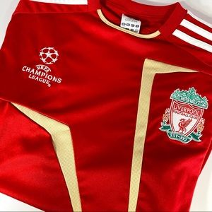🩸 Adidas Liverpool Champions League Warm-up Kit